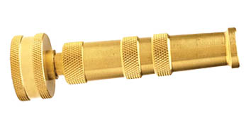 Brass Twist Adjustable Hose Nozzle